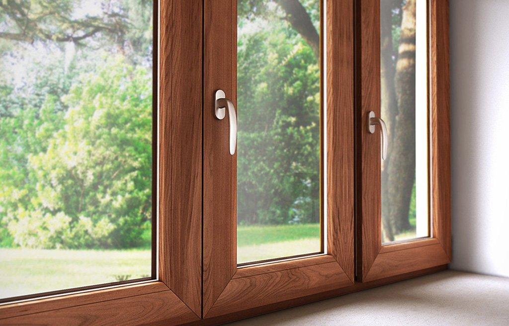 finestra in legno e alluminio infissi roma