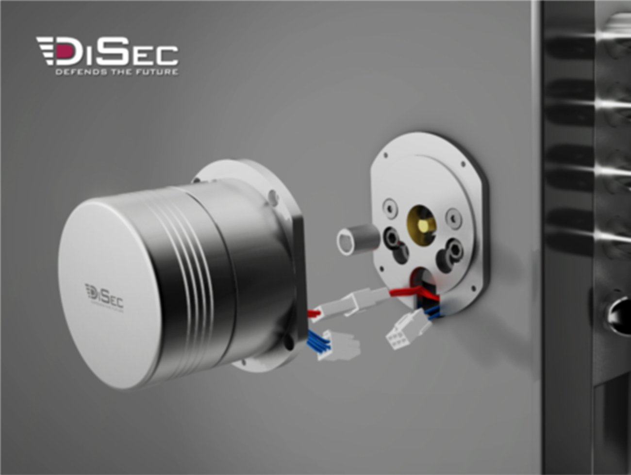 Cilindro elettronico DiSec Motorlock