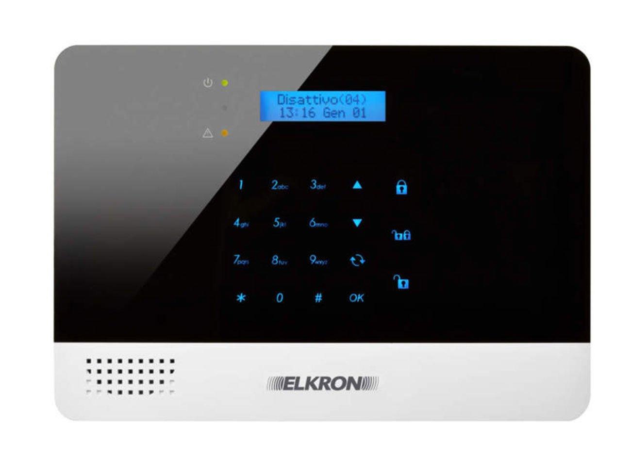 Elkron CR 600 Plus Kit Centrale Allarme